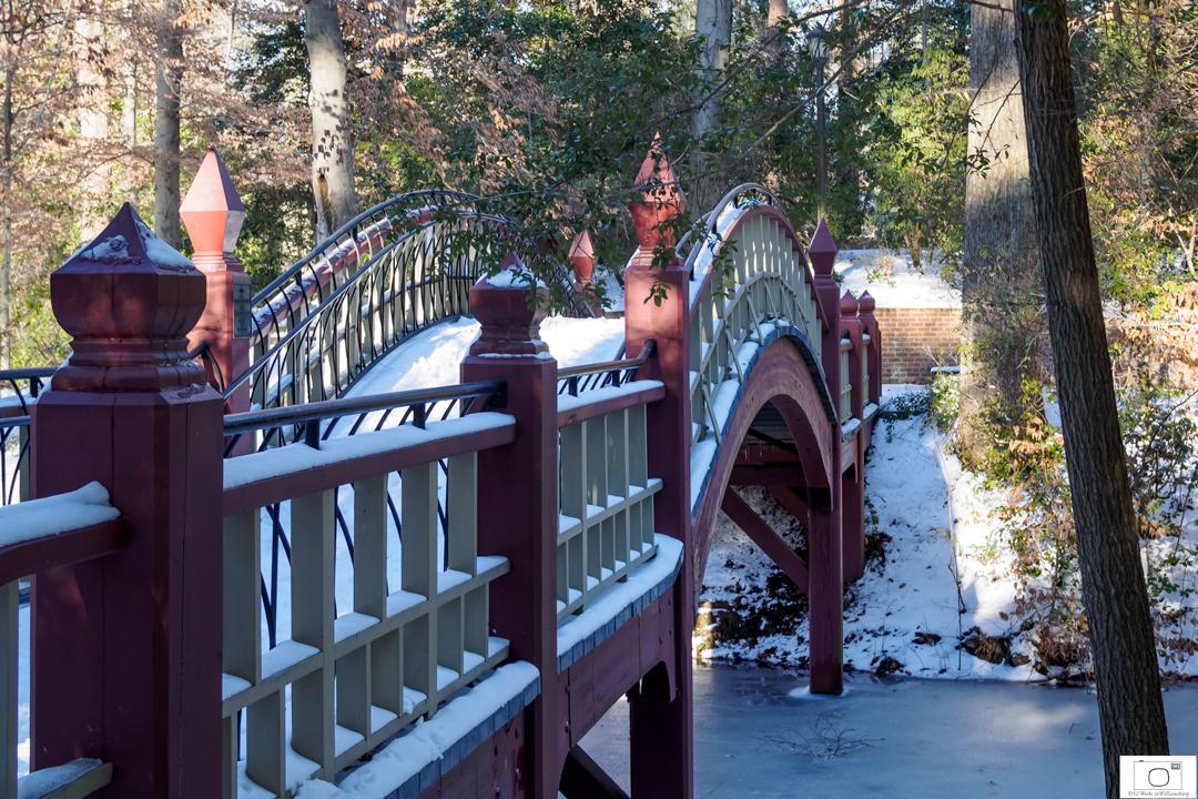 The Bridge at Crim Dell - January 2016